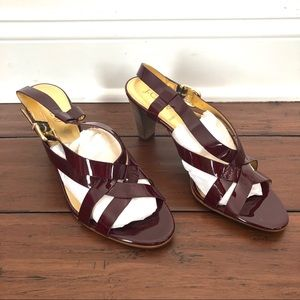 New. J. Crew Made in Italy Patent Leather Heels 8